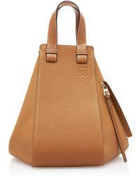 Loewe - Medium Hammock Leather Shoulder Bag - Lyst