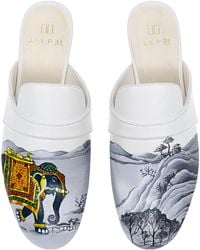 Alepel - M'o Exclusive: White Elephant Mule - Lyst