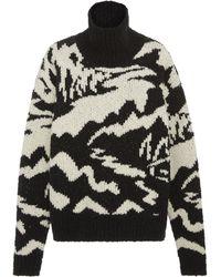 Missoni - Long Sleeve Mock Sweater Neck - Lyst