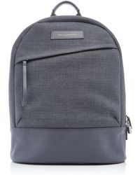 Want Les Essentiels De La Vie - Kastrup Grey Canvas Backpack - Lyst