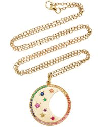 Andrea Fohrman - Phases Of The Moon Multi-sapphire Necklace - Lyst
