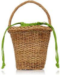 Glorinha Paranagua Jane Basket - Green