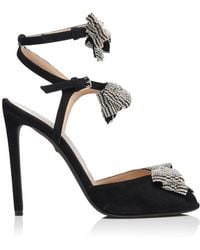 Giambattista Valli - Strass Bow Sandals - Lyst