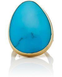 Annette Ferdinandsen | Coral Branch 18k Gold Turquoise Ring | Lyst