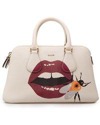 Bally - Berkeley Small Lip Print Bag - Lyst