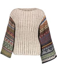 Tuinch - Contrast Sleeves Jumper - Lyst