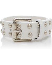Rodarte   Studded Leather Bracelet   Lyst