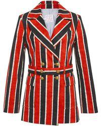 Stella Jean - Striped Blazer - Lyst