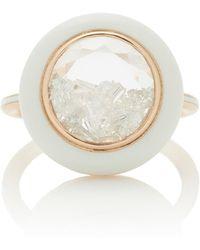 Moritz Glik - 18k Rose Gold Diamond Ring - Lyst