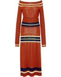 Use Unused - Olena Off The Shoulder Dress - Lyst