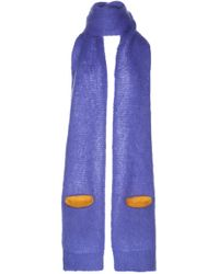 Maison Margiela - Mohair Scarf With Pocket - Lyst