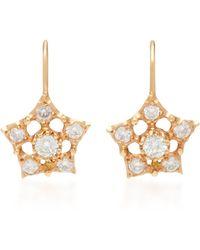 Montse Esteve - 18k Gold Diamond Earrings - Lyst