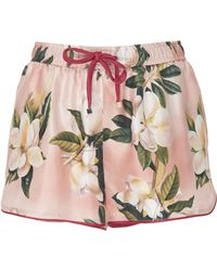 F.R.S For Restless Sleepers - Glauco Silk Shorts - Lyst