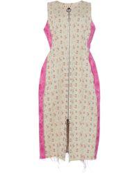 Marni - Sleeveless Floral Waist Coat - Lyst