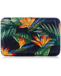 Judith Leiber Couture | Seamless Bird Of Paradise Clutch | Lyst