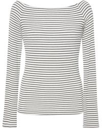 Getting Back to Square One - Sailor Striped Long Sleeve Jersey Top - Lyst