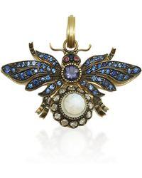 Sylva & Cie - Blue Bug Pendant - Lyst