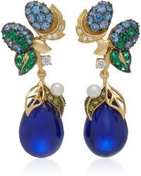 Anabela Chan - Nightberry 18k Gold Vermeil Multi-stone Earrings - Lyst