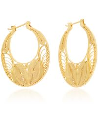 Mallarino | Safiya Hoop Earrings | Lyst
