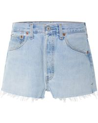 RE/DONE - Vintage Levi's Denim Shorts - Lyst
