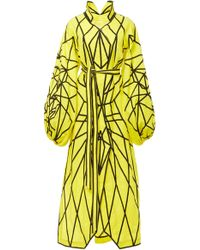 Yuliya Magdych - Panther Fully Embroidered Linen Caftan - Lyst