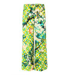Laura Urbinati - Cropped Floral Trousers - Lyst