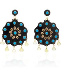 Ashley Pittman - Dark Horn Shauku Earring - Lyst