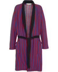 Marni - Stripe Coat - Lyst