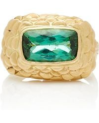 Charlotte Wendes - One-of-a-kind Tourmaline Fish Ring - Lyst