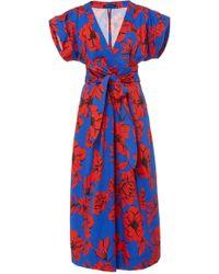 Marissa Webb - Luciano Print Dress - Lyst