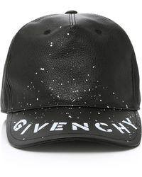 86540ca88b5 Givenchy - Graffiti Logo Hat - Lyst