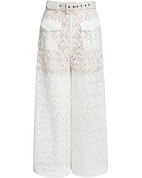 We Are Kindred - Romily Lace Wide-leg Pants - Lyst