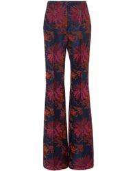 J. Mendel - Floral Pant - Lyst