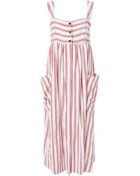 Three Graces London - Button Down Elinor Dress - Lyst