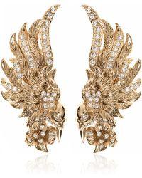 Marchesa - Bird Button Earrings - Lyst