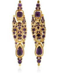 Fred Leighton - One-of-a-kind Vintage Iberian Pendant Earrings - Lyst