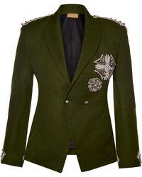 Nadya Shah - Khaki Structured Jacket - Lyst