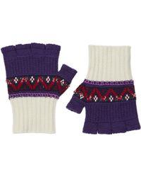 Burberry - Fairisle Glove - Lyst