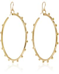 Ashley Pittman - Teli Bronze Earrings - Lyst
