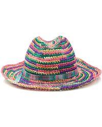 Missoni - Multicolored Braided Hat - Lyst