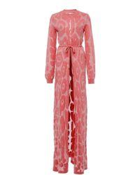 Nanna van Blaaderen - Jaguar Print Robe - Lyst