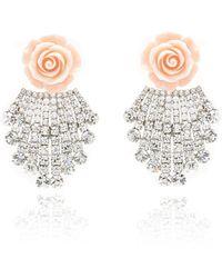 DANNIJO - Rose Earrings - Lyst