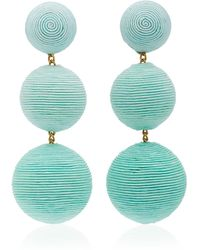 Rebecca de Ravenel - M'o Exclusive Ombre Three Drop Clip Earrings - Lyst