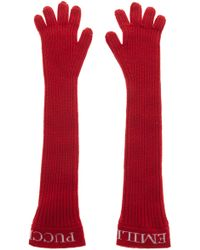 Emilio Pucci - Long Silhouette Gloves - Lyst