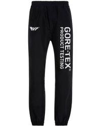 Off-White c/o Virgil Abloh - Goretex Technical Trousers - Lyst