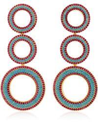 Joanna Laura Constantine | Gold-plated Grommet Earrings | Lyst
