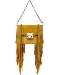 Givenchy - Gv3 Small Suede Bag - Lyst