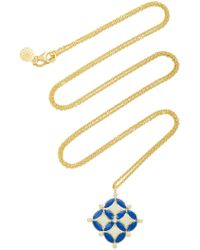 Amrapali - Mosaic 18k Gold And Diamond Necklace - Lyst