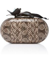 Thale Blanc - Paradise Orchid Clutch - Lyst