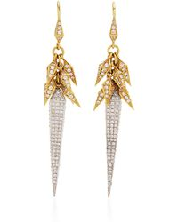 Karma El Khalil - Dancing Pyramid Earrings - Lyst